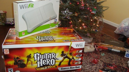 Busy X-MAS with the Wii
