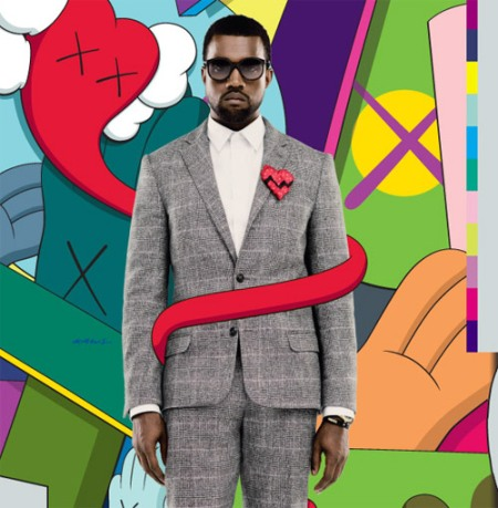 Kanye & Kaws 808s