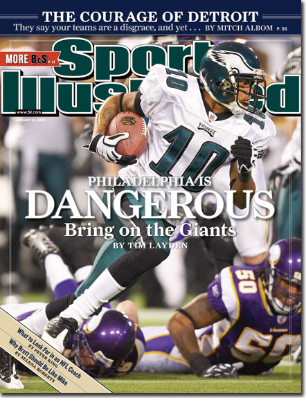DeSean Jackson...Hopefully this can reverse the SI curse!